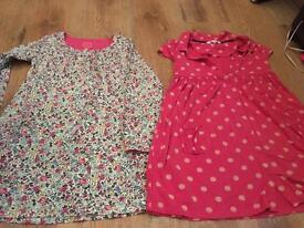 8 year old John Lewis and joules dresses