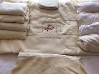 Nursery Mamas & Papas cot bed bedding