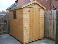 NEW 6ft X 6ft GARDEN SHED'S