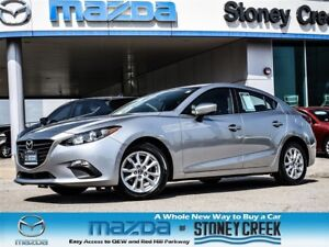 2014 Mazda MAZDA3 GS AUTO,NEW R/BRAKES,HEATED+B/UP,1 OWNER,ACC F