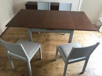 GORGEOUS SHABBY CHIC DINING TABLE AND DINING CHAIRS!!