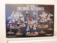 Warhammer 40k Tau XV8 Crisis Battlesuits Still in box
