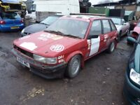 MG Maestro Turbo/efi Rally Car.