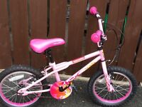 "Apollo 16"" girls bicycle, perfect condition, suitable for kids 5-8 years old"