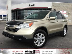 2008 Honda CR-V EX-L. Heated Seats, Leather, Sunroof