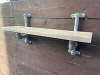 Rustic shelf up cycle man cave kitchen