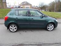 SKODA FABIA 1.4 LEVEL 3 TDI 5d 79 BHP (green) 2009