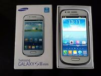 SAMSUNG GALAXY S3 MINI 8GB WHITE
