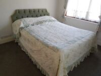 5 ft double bed, mattress and headboard --- FREE ---