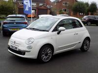 FIAT 500 1.2 LOUNGE 3d 69 BHP * Bluetooth + Air Con + Pan R (white) 2015