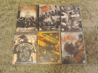 Sons of Anarchy Season 1 to 6 DVD set.