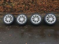 Winter tyres on good alloy wheels