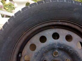 """FORD GALAXY VW SHARAN 16"""" STEEL WHEELS & TYRES 225/55 R16"""