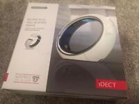 IDECT Eclipse plus Cordless home telephone phone white gloss with answer machine boxed