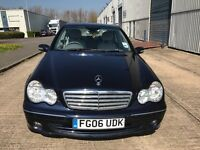 Mercedes Benz C CLASS KOMPRESSOR .1.8 PETROL AUTOMATIC DRIVE LIKE A NEW CAR