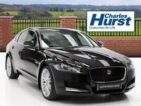 Jaguar XF PORTFOLIO (black) 2016-01-26