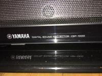 Yamaha digital sound bar and sub woofer
