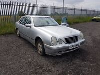 W210 Mercedes Benz E240 E class 2002 face lift model breaking - All parts available not bmw audi