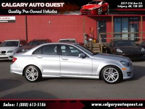2013 Mercedes-Benz C-Class C300 4-MATIC AWD/LEATHER/SUNROOF/MUST