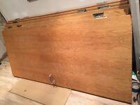 5 x internal Fire Doors with stainless steel hinges and door handles