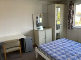 Light, airy, double room in shared student 5 bed house