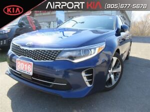 2016 Kia Optima SXL Turbo / Nav / Sunroof / BLOW OUT Price!