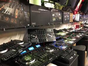 DJ TABLE * TOUT EN UN -  MIXER - MULTI PLAYER * PIONEER - DENON - NUMARK - RANE - TRAKTOR - MASCHINE - RELOOP * ETC