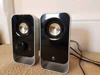 Logitech laptop speakers