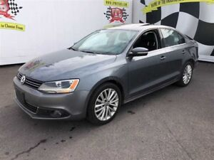 2011 Volkswagen Jetta Highline, Automatic, Leather, Diesel, 79,