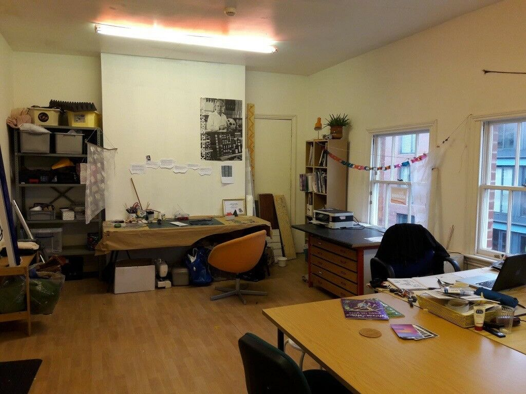 Shared Studio/Office Space for Creative in Jewellery Quarter Birmingham