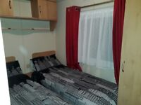 4 birth caravan to let at thornwick bay