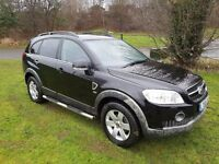 2009 (58) CHEVROLET CAPTIVA 2.O CDTI LTX 7 SEATER MOT NOV 17 LEATHER SIDE STEPS SERVICE HISTORY