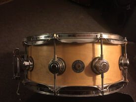 Drum Workshop DW Six and Six All Maple Snare drum 14 x 5.5 - 2008