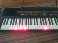 CTK 520L Casio Keyboard with power supply and stand