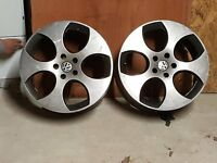 For Sale - 18 inch Alloy Wheels suited for VW or Audi etc