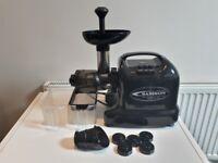 Samson Advanced Wheatgrass Juicer 6 in 1 functions