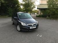 Vauxhall Zafira Automatic 7 Seater, Very Low Mileage Excellent Runner HPI Clear