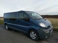 Vauxhall vivaro lwb 2.5 diesel 135bhp partly converted van