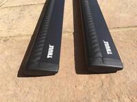 Thule Wingbars 961 in Black (961B) - Pair