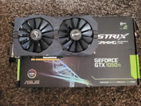 Asus GTX 1050 Ti 4GB Strix Gaming Graphics Card