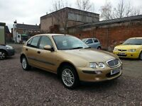 ROVER 25, 1.4 PETROL, LOW MILEAGE, EXCELLENT RUNNER