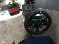 Logitech g29 and racing seat