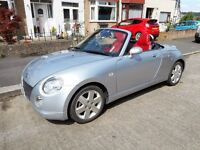 Daihatsu Copen 2dr Roadster 0.66l only 38k mileage. A lovely example of this sporty fun car!