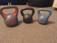 Kettle bells ( weights )