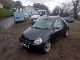 Ford Ka 1.3 Petrol, Leather creme, Eletric windows, Alloys, CHEAP CARS !! ALL CARS UP To 1000pounds