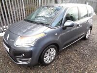 CITROEN C3 PICASSO VTR+HDI 1.5 2010 5 DOOR HATCHBACK GREY 71,000 MILES M.O.T 19/12/18 NO ADVISORIES