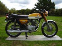 honda cb 175 1972