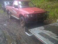 4x4 pickup wanted (l200, b2500, navara, ranger, hilux etc) diesel 4wd