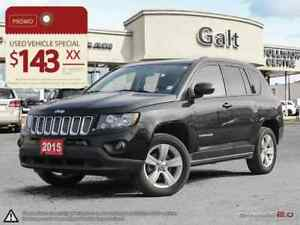 2015 Jeep Compass NORTH | LEATHER HEATED SEATS SUNROOF BLUETOOTH
