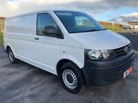 VOLKSWAGEN TRANSPORTER 2.0 T32 TDI P/V STARTLINE BMT 113 BHP ONE OWNER FROM NEW FULL VW HISTORY 2014